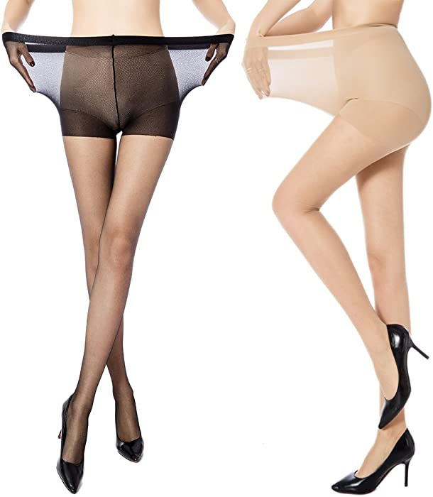 Share a pair of pantyhose happens
