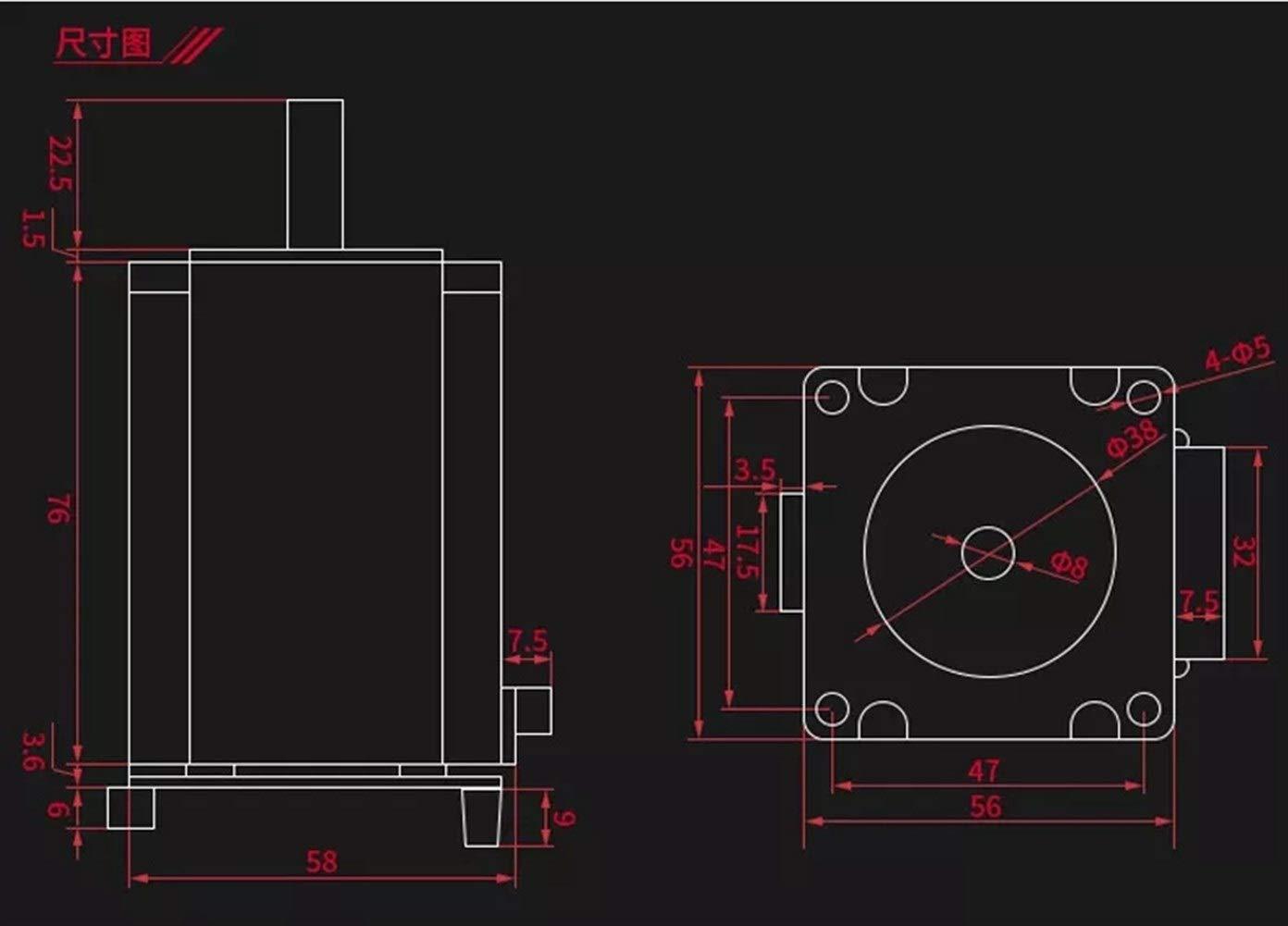 MXLTiandao 3d Accesorios para impresoras Lazo cerrado del motor de ...