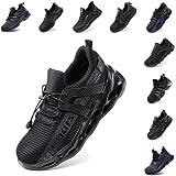 Zapatos de Seguridad Hombre Mujer Zapatillas de Trabajo con Punta de Acero Ligeros Calzado de Industrial y Deportivos…