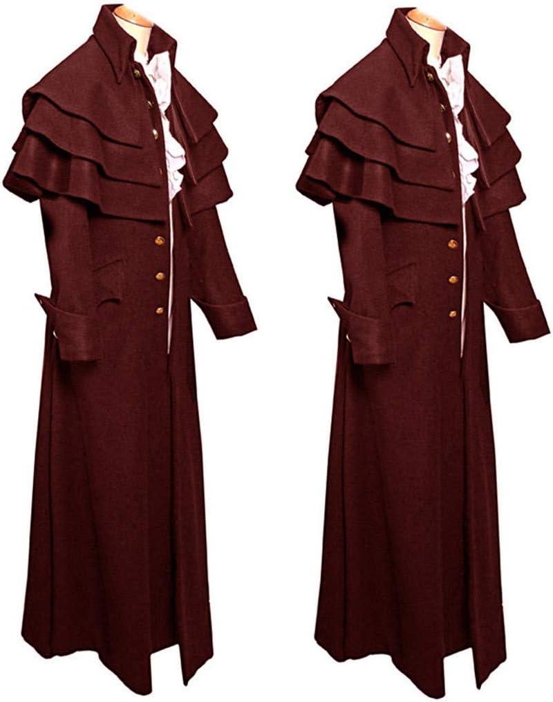 Amazon.com: Chaqueta estilo gótico vintage para hombre ...