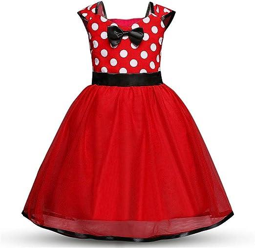ChenYongPing Vestidos de niña niños Vestido de Disfraz de niña sin ...
