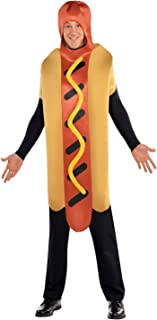 Unisex Sausage Food Outfit Novelty Fancy Dress Adults Hot Diggety Dog Costume  sc 1 st  Amazon UK & Burger Adults Fancy Dress Fun Food Cheeseburger Hamburger Mens ...