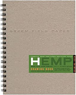 """product image for Hemp Drawing Book, Large 8.5"""" x 11"""""""