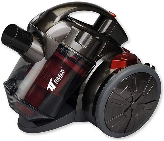 Suinga. Aspirador Multi CICLONICO SIN Bolsa 1000W 1,5 litros Rojo. Sistema de filtración de 5 etapas. Filtro de plástico con Sistema de filtración Multi-ciclónico para aspiradora: Amazon.es: Hogar