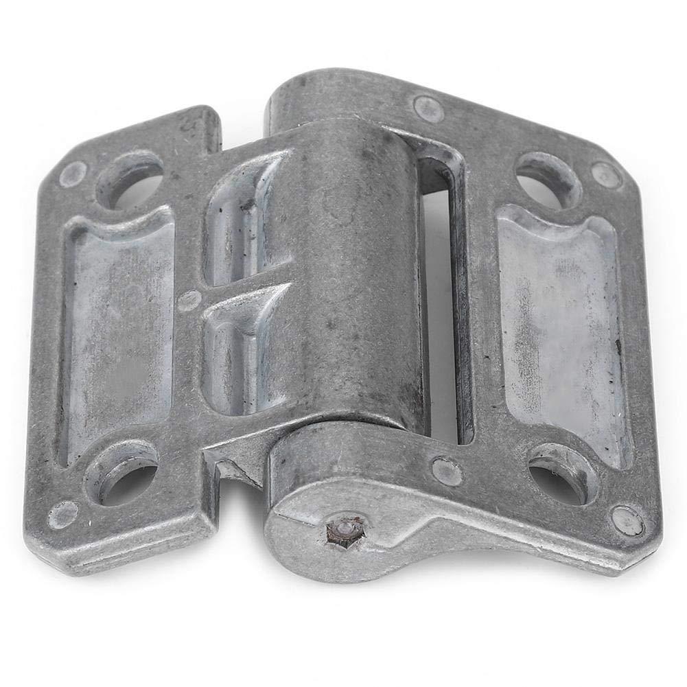 Grey Zinc Alloy Arbitrary Stop Door Hinge Rustproof Replaceable Damping Hinge for Cabinets Shutter Furniture Door 0N/•M Heavy Duty Door Hinge
