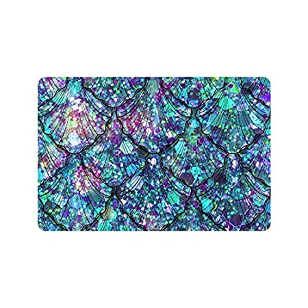 61BB4e9c0VL._SS450_ 50+ Mermaid Themed Area Rugs
