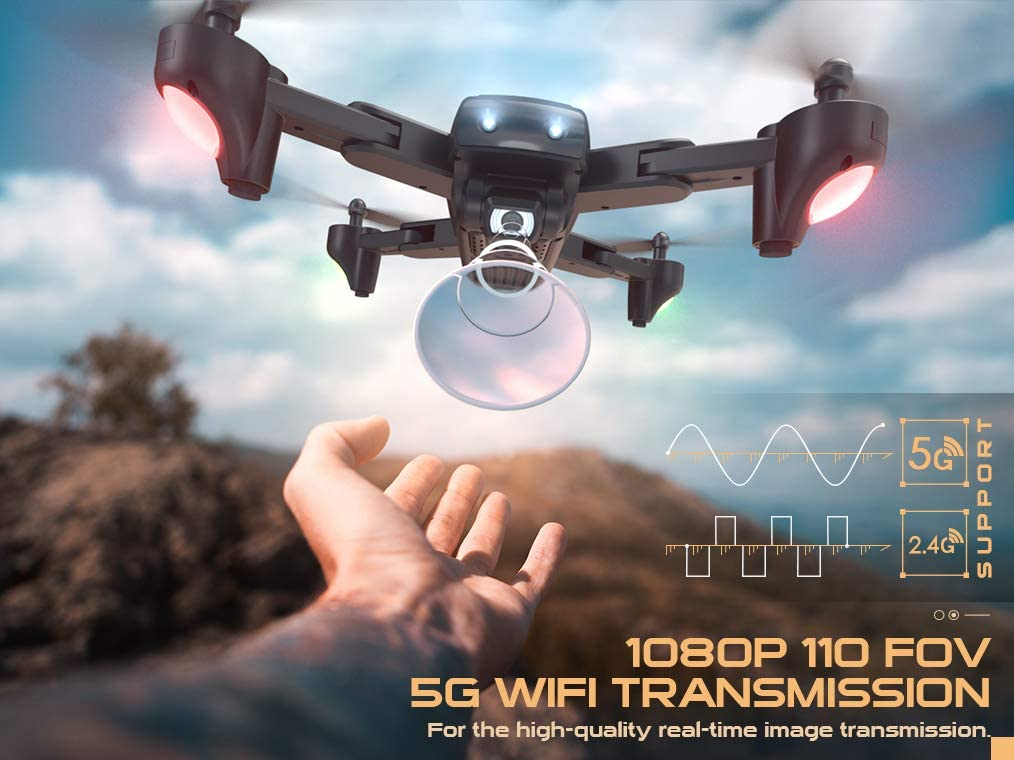 Snaptain Sp500 is at #1 for best drones under 150 dollars