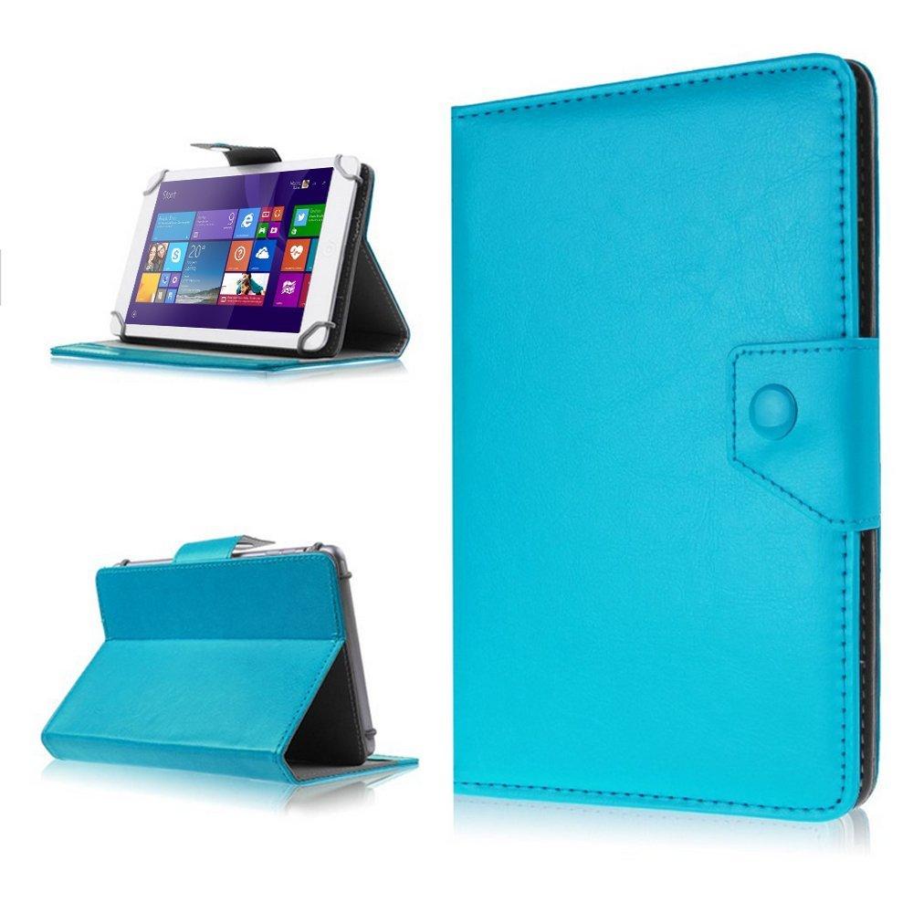NAUC Schutz Cover Tablet Tasche fü r Lenovo ThinkPad 10 Hü lle Case Schutzhü lle Etui Kunstleder Universal 10.1 Zoll Tablettasche Standfunktion 9 Farben, Farben:Braun