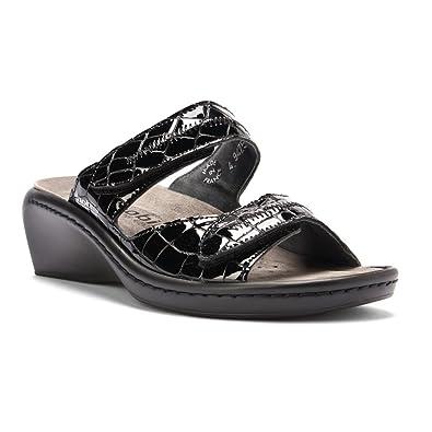 f93081318f4 Mobils Mephisto Women's Ulda Sandals, Black Crocsoft, 7 M US - 5 UK:  Amazon.co.uk: Shoes & Bags