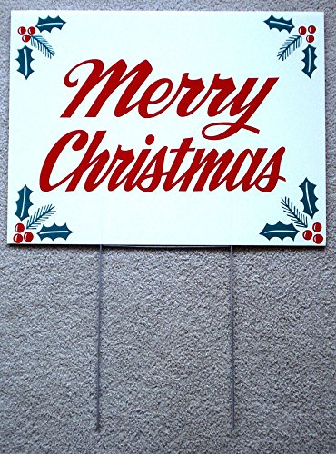 Homemade Victorian Christmas Crackers - 1 Pc Imposing Unique Holly Merry Christmas Yard Sign Plastic Coroplast Outdoor Decal Home Decor Banner Ornaments Vintage Santa Houses Happy Holidays Prop Wall Hanging Holiday Size 18