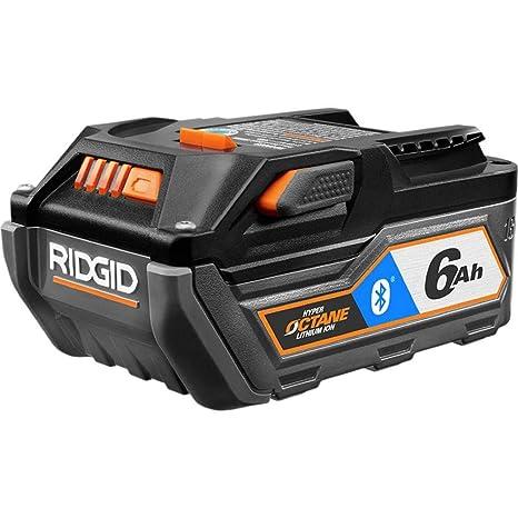 Amazon.com: Batería Ridgid 18 V Bluetooth 6.0 Ah HYPER ...