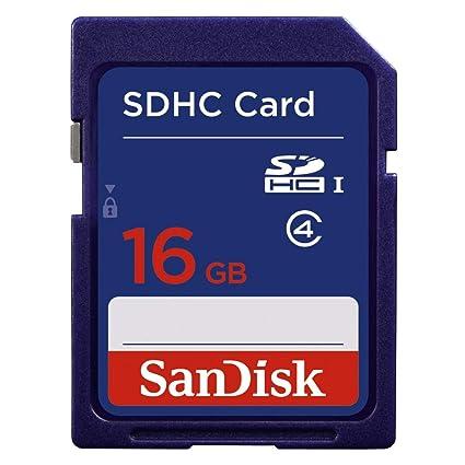 SanDisk SDSDB-016G-B35 - Tarjeta de Memoria SDHC de 16 GB Azul