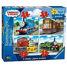 Ravensburger My First Puzzle, Thomas & Friends (2, 3, 4 y 5 Piezas) Puzzles de Sierra