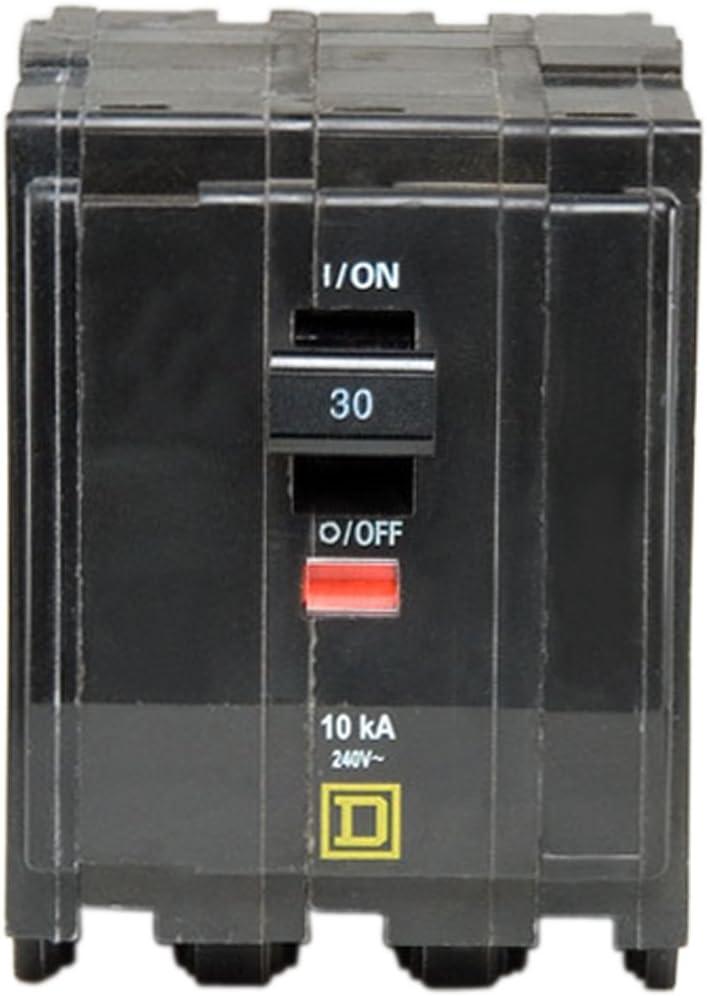 Square D by Schneider Electric QO330CP QO 30 Amp Three-Pole Circuit Breaker,