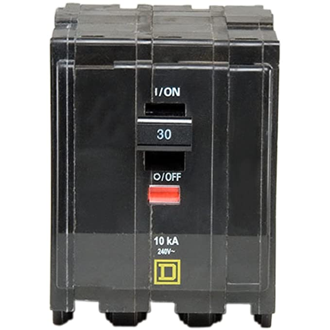 Square D by Schneider Electric QO330CP QO 30 Amp Three-Pole Circuit Breaker,