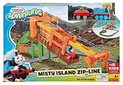 Fisher-Price Thomas & Friends Adventures Misty Island Zip-Line