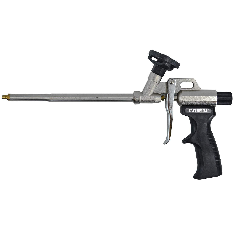 Faithfull BD22PRO - Pistola de espuma de poliuretano: Amazon.es: Bricolaje y herramientas