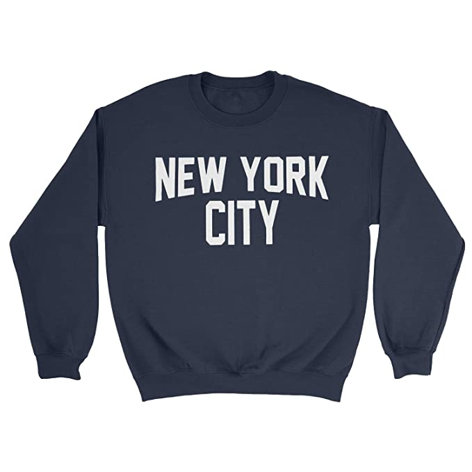 Amazon Com Nyc Factory New York City Youth Shirt Screenprinted Navy