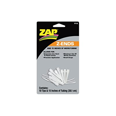 Pacer Technology (Zap) Z-Ends Adhesives (10 Tips): Toys & Games