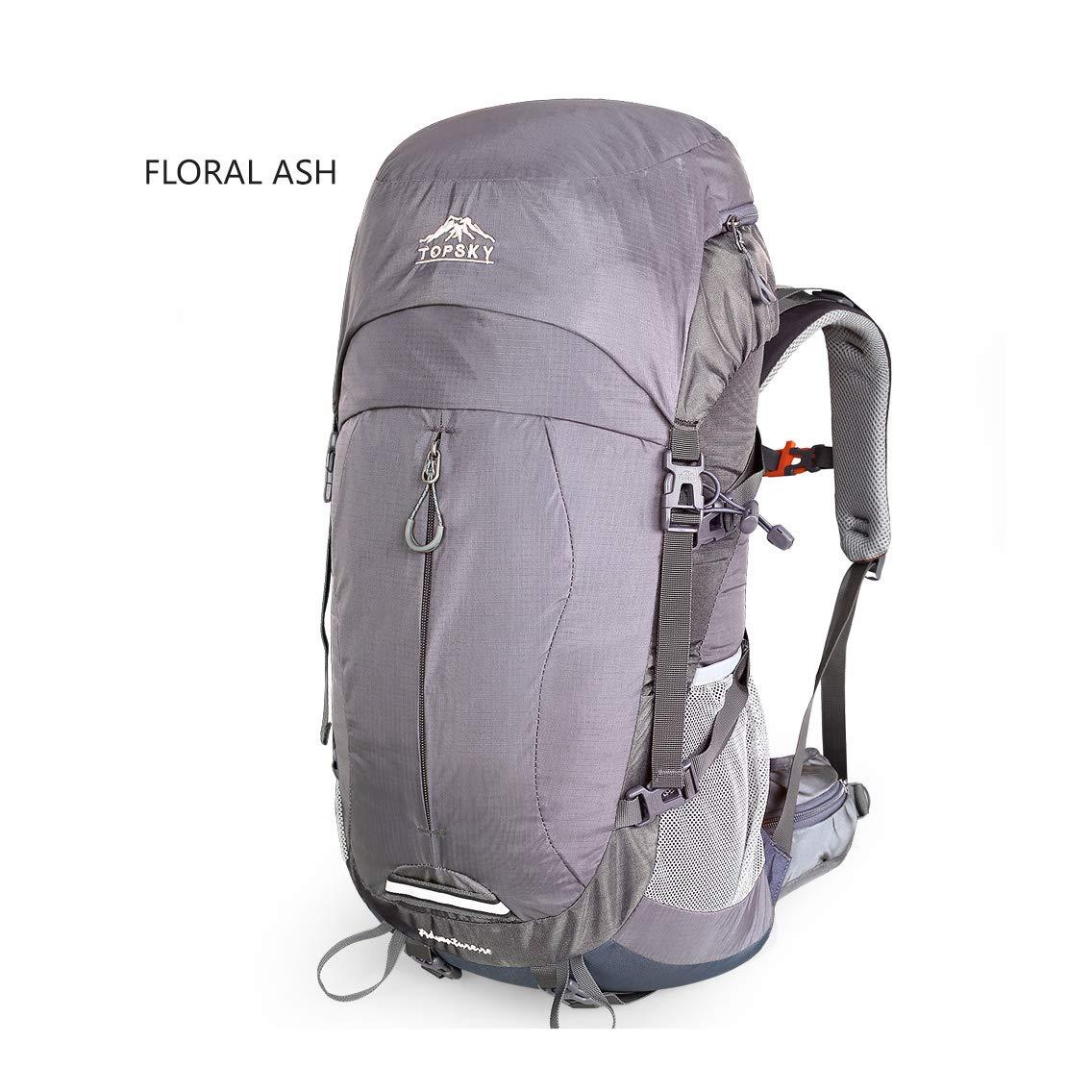 Langlebige Outdoor-Wandertasche für den Bergsport leichte Cross-Country-Schultertasche mit Regenschutz für bequemes Tragen und geringes Gewicht - Nettogewicht von 40L über 0,93 kg