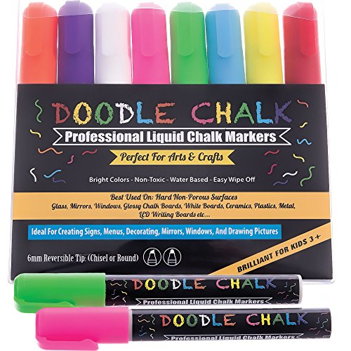 doodle-chalk-markers-colored-8-pack-best-for-kids-art-menu-board-bistro-boards-glass-window-markers-