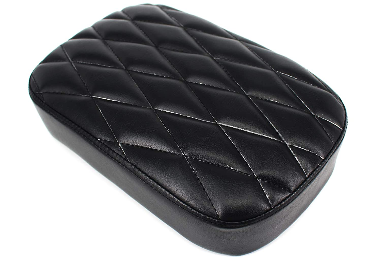 passager Pad Assise 8 Ventouse pour Harley Dyna Sportster Softail Touring XL 883 1200 Zhuanwantingzhi-R1200GS 1317