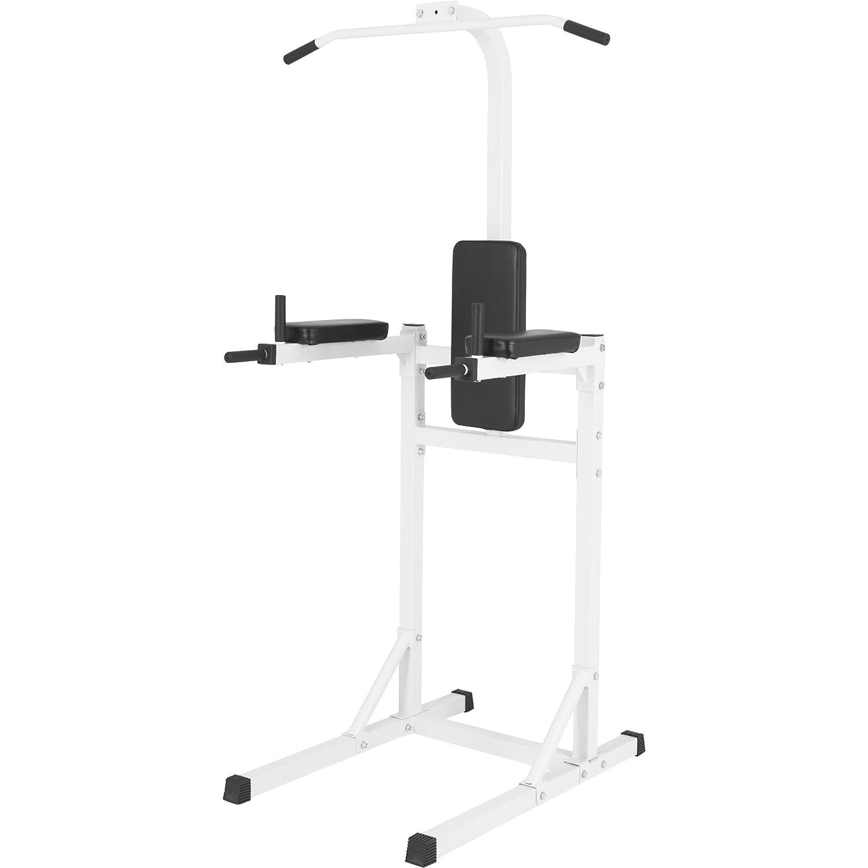 GORILLA SPORTS® Kraftstation Gymtower mit Klimmzugstange und Dipstation