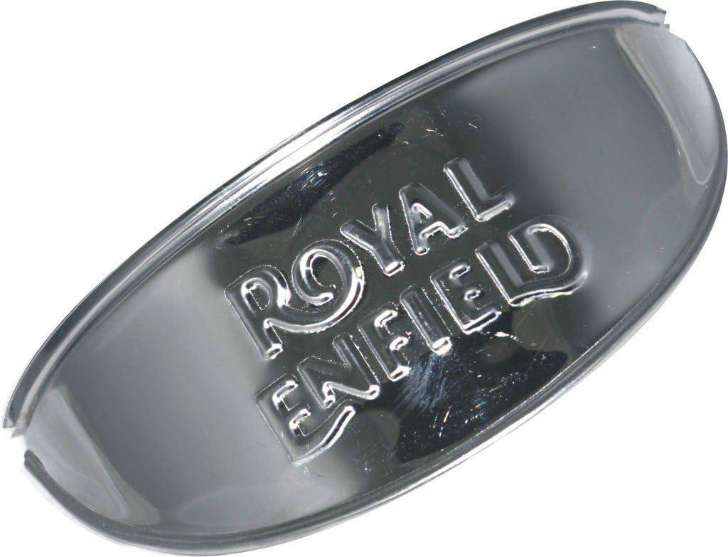 Motorrad Teile Royal Enfield City Verchromtem Tank Aufkleber Plakette Mit Krone Auto