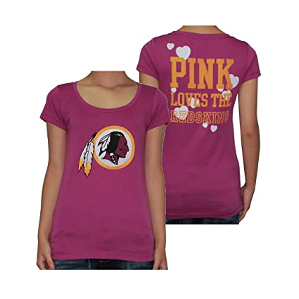 Womens NFL Washington Redskins T Shirt by Pink Victoria s Secret L Fuchsia 7c943624f