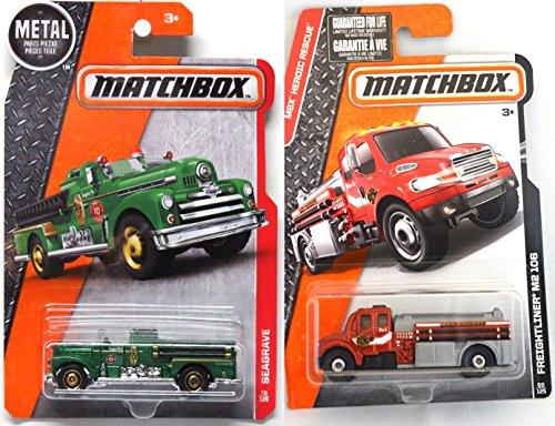 Review Matchbox 2016 Fire Trucks