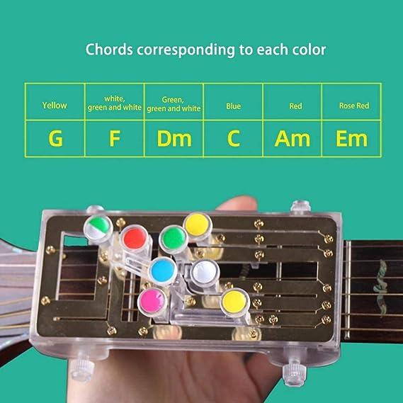 NanXi Herramienta de Aprendizaje para los acordes de Guitarra ...