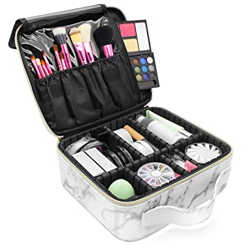 Amazon.com: Marble Makeup Organizers and Storage,LKE ...