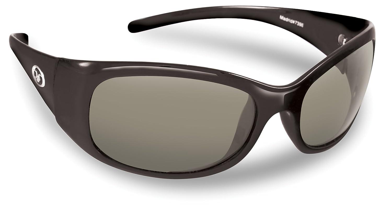 0167a2f282 Amazon.com  Flying Fisherman Madrid Ladies Polarized Sunglasses (Shiny  Black Frame