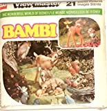 Disney's Classic Bambi View-Master 3 Reel Set - Clay Animation