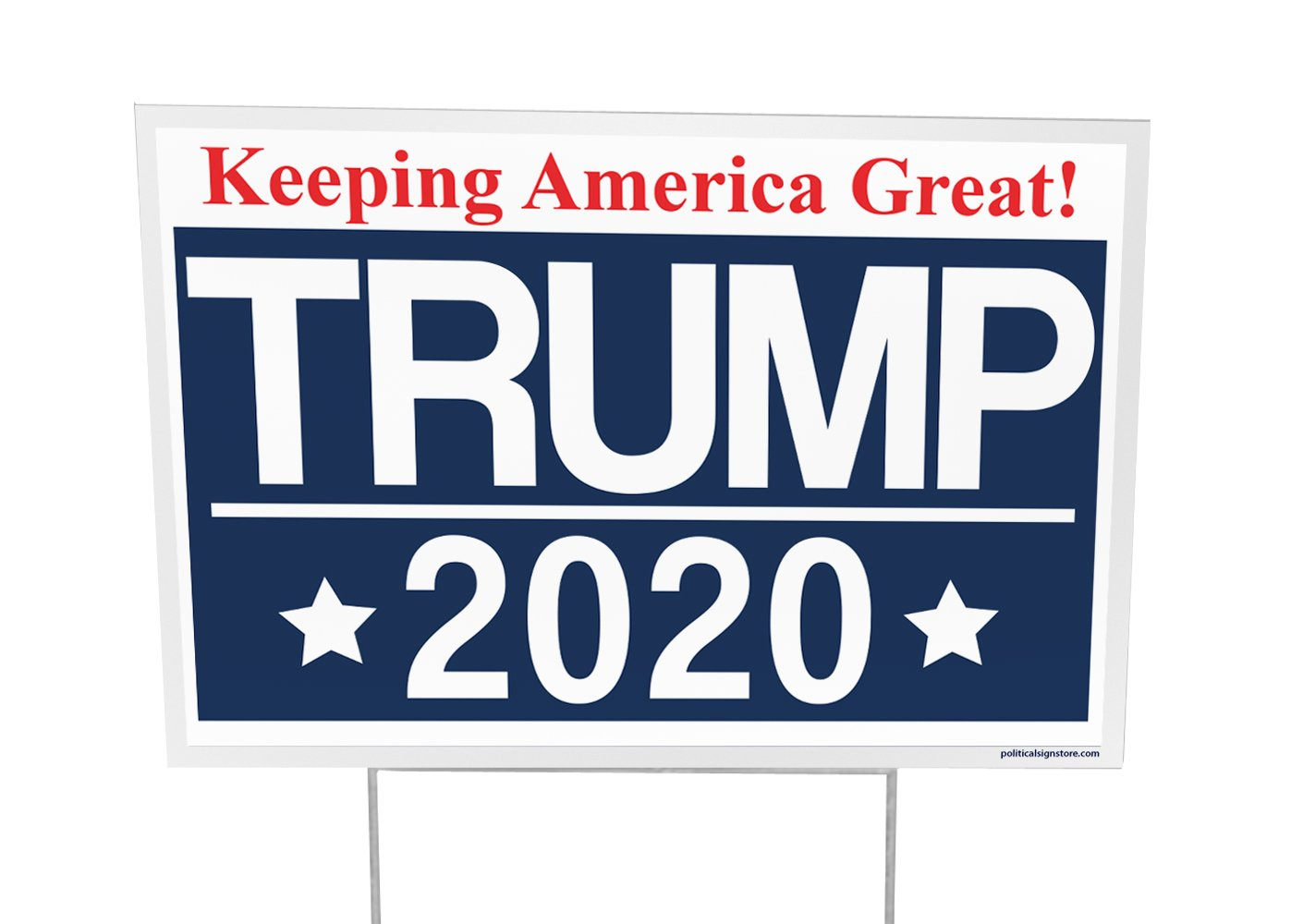 Trump For President 2020 Outdoor Yard Sign - 12x18 - Imagine This Company