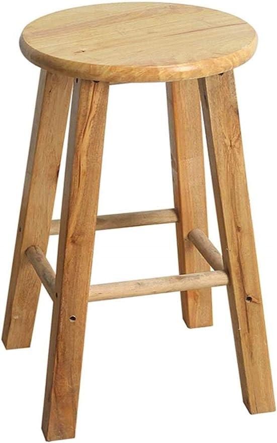 Taburete Escalera Sólido Madera Mueble de casa Mesa de Comedor Taburete Taburete Escalera del Taburete Taburete Alto: Amazon.es: Hogar