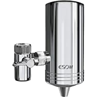 2 Count Reduces Lead BPA Free WEIEN Water Faucet Filter,Water Filtration System Replacement Filters for Faucets Chrome