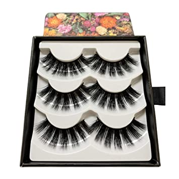 2dfd54c78a1 DIVINE 3D Lashes Fluffy Thick False Eyelash Pack Handmade Eyelashes Faux  Mink: Amazon.ca: Beauty