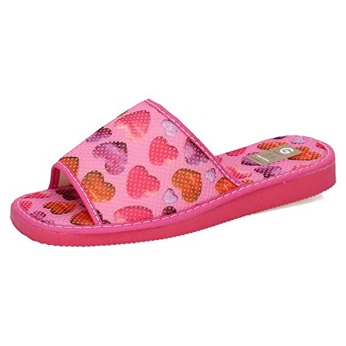 GEMA GARCIA 2011-3 CHOLAS DE CASA Rosas Mujer Zapatillas CASA Rosa 36