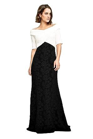 d8402ec1df Tadashi Shoji Women s Hudson Off The Shoulder Gown at Amazon Women s  Clothing store