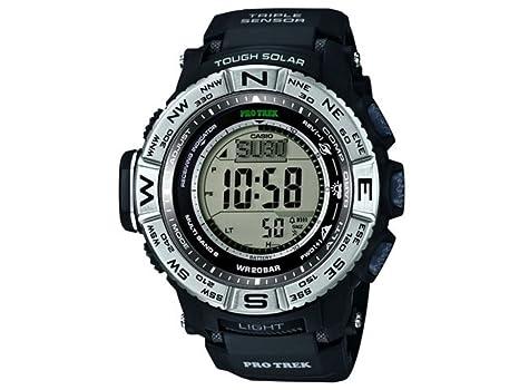 casio pro trek prw 3500 1e watch men automatic lcd display casio pro trek prw 3500 1e watch men automatic lcd