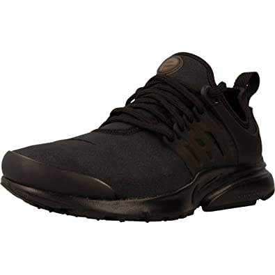 Nike Women's Air Presto Premium Shoe Black/Black/Black (7 B(M