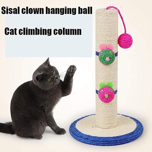 Sisal payaso cabeza larga gato escalada marco Payaso Pilar largo ...