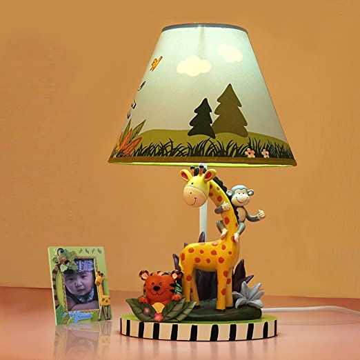 NPZ- Jirafa Lámparas de mesa de dibujos animados creativos Lámina ...