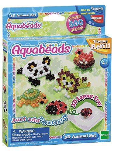 Aquabeads 3D Animal Set (Layout Sheet)