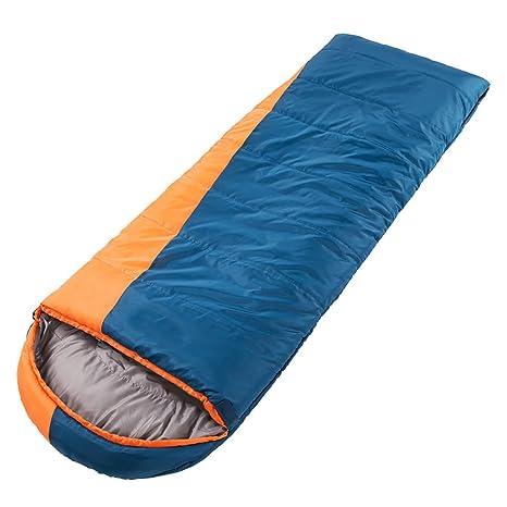 ZML Saco de Dormir Individual, Cálido, Ligero, Portátil, Acampar al Aire Libre
