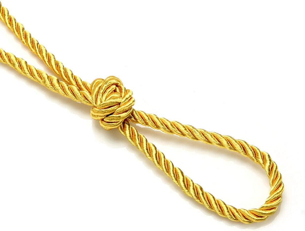 Neotrims High Strength 36 Colors Durable /& Versatile 6mm Silky Barley Twist Cord /& 16mm Flanged Insertion Piping Upholstery Crafts Trimming