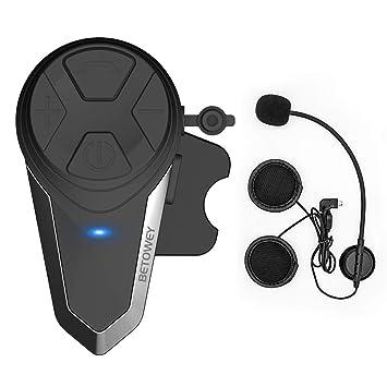 9695a05bb99 Intercomunicador Casco Moto, ENCHICAS BT-S3 Bluetooth Auriculares Manos  Libres para Casco Moto (1*BT-S3): Amazon.es: Electrónica