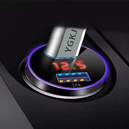 Ygkj Usb Auto Ladegerät Quick Charge 3 0 2 4a 30w Elektronik