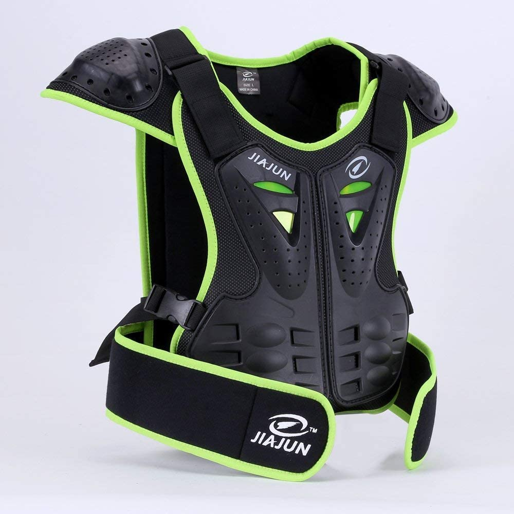 MOTOWOLF Kids Dirt Bike Body Chest Spine Protector Armor Vest Protective Gear